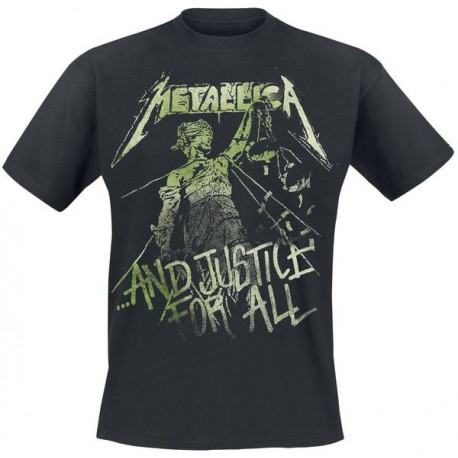 T-shirt METALLICA - ... And Justice For All - Vintage