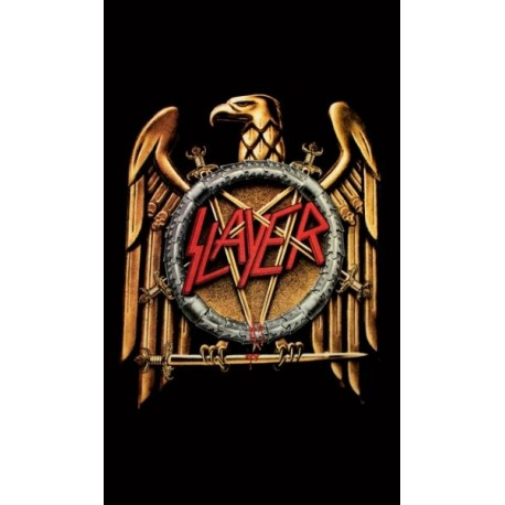 SLAYER - Golden Eagle Flag
