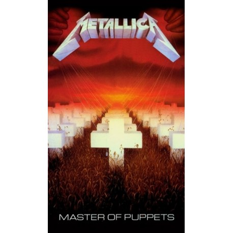 METALLICA - Master Of Puppets Flag
